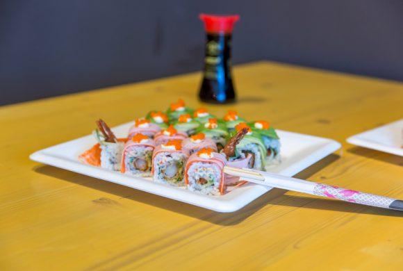 Online sushi bestellen bij Shabu to Go